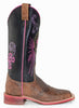 Women's Justin Boots Old Maple Cowhide #BRL320