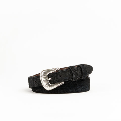 Allens Boots Exclusive Taper Black Hippo Belt #2HH-A