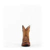 Women's Corral Lamb Boots Bone with Embroidery and Studs #C3372
