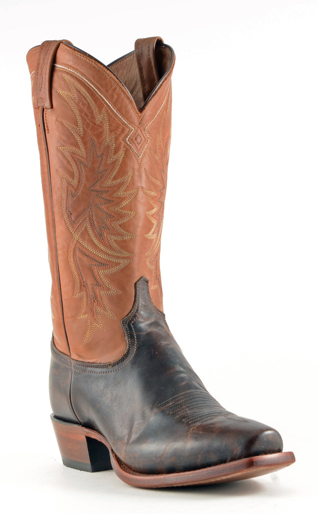 Men's Tony Lama Tornado Boots Walnut #CE4062 view 1