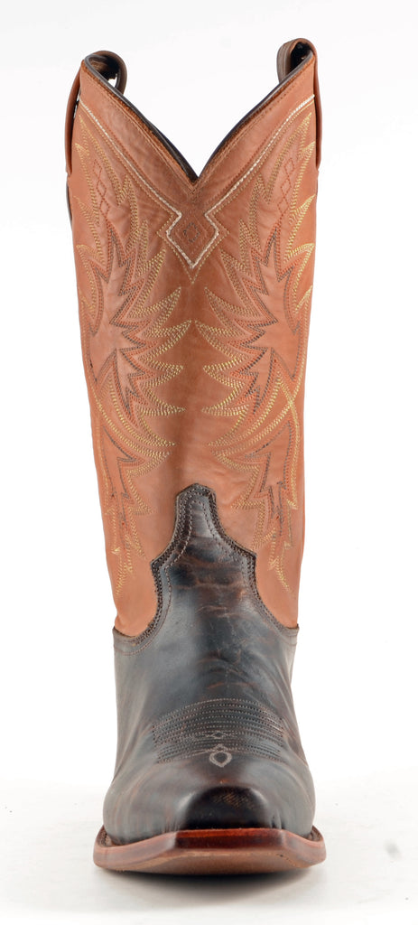 Men's Tony Lama Tornado Boots Walnut #CE4062 view 4