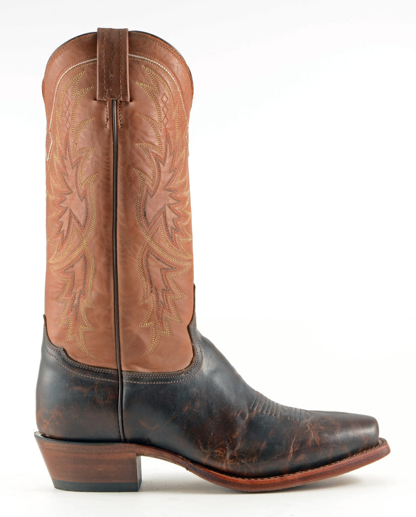 Men's Tony Lama Tornado Boots Walnut #CE4062 view 3