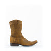 Men's Cuadra Zipper Boots Tan #CU164