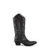 Women's Corral Black Filigree Boots #L5142