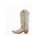 Women's Corral Embroidery with Studs Boots Brown #E1275 view 4
