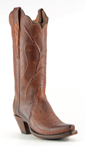Women's Lucchese Classics Ostrich Barnwood #E2208