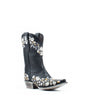 Women's Liberty Black Embroidery Res Delano Boots Black #Eden LC- FAL015P4F