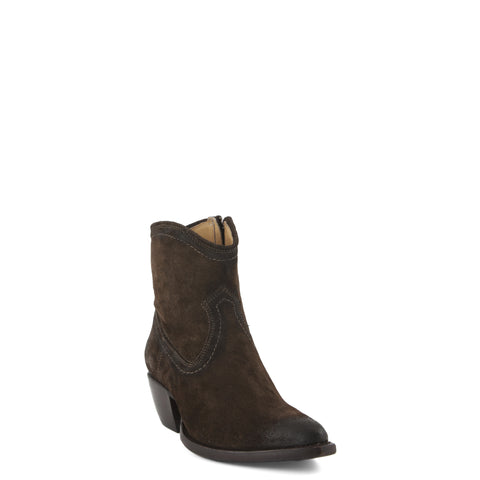 Women's Frye Boots Sacha Short Suede #78020-FTG