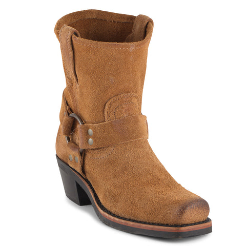 Women's Frye Harness Boots Tan #77463TAN
