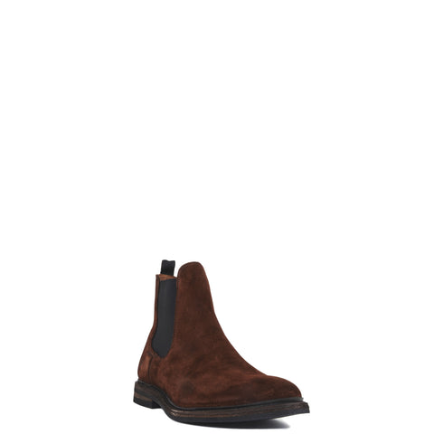 Men's Frye William Chelsea Boots Brown #87132-BRN