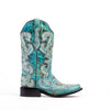 Women's Corral Boots Turquoise Shaded Studs #G1266