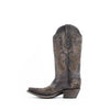 Women's Corral Embroidery Boots Brown #G1441