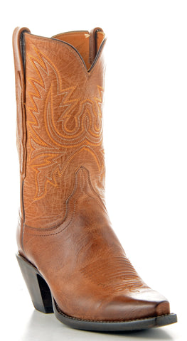Women's Lucchese Mad Dog Goat Boots Tan #G6608