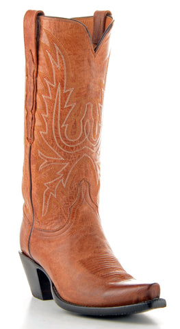 Women's Lucchese Classics Mad Dog Goat Boots Tan #GB9167