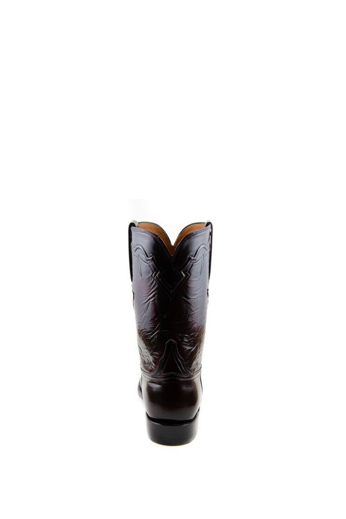 Men's Lucchese Classics Goat Boots Black Cherry #GC9102 R/9 view 7