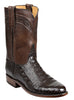 Men's Lucchese Bootmaker Wilson Boots Chocolate Ulra Belly #GY3010-R/9