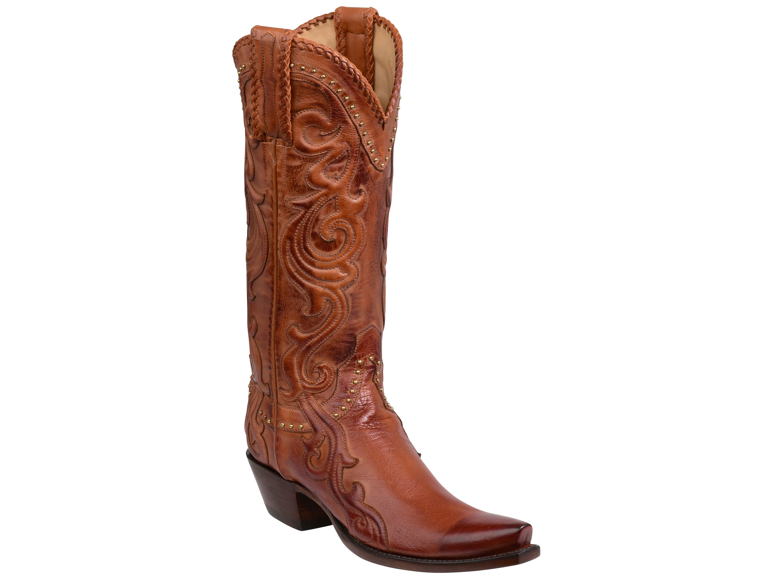 a4b41ae4a8c Women's Lucchese Bootmaker Saratoga Boots #GY4501-S5/4 – Allens Boots