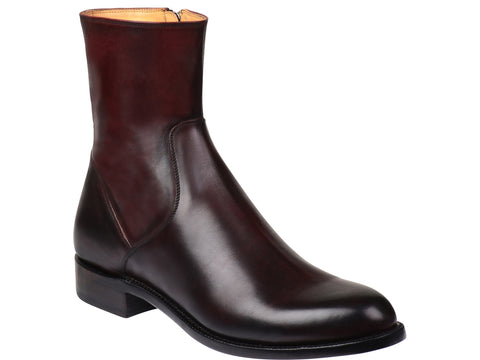 Men's Lucchese Bootmaker Jonah Boots Black Cherry #GY8903