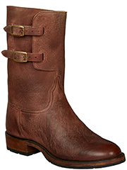 Men's Lucchese Bootmaker Fletcher Brick Red #GY9252