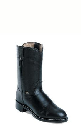 Men's Justin Cow Roper Black #JB3000