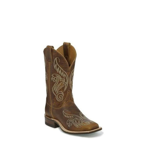 Women's Justin Damiana Boots Tan #BRL212