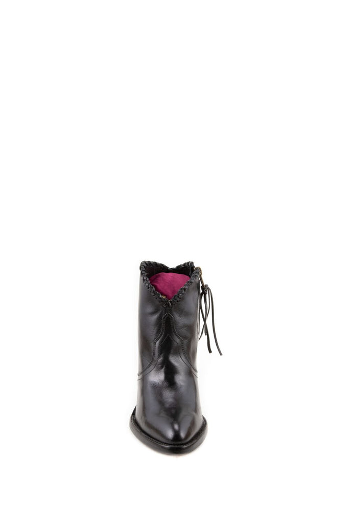 Women's Allens Brand Kyra Boots Black #KYRA4FR-2 view 2