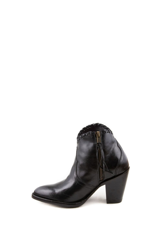 Women's Allens Brand Kyra Boots Black #KYRA4FR-2 view 7