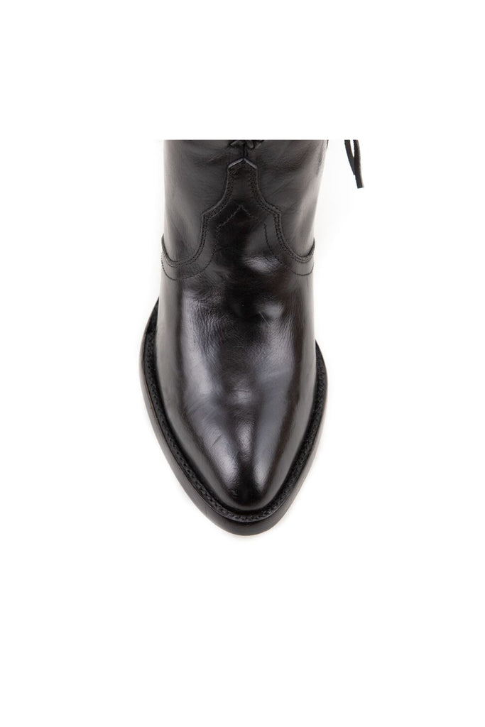 Women's Allens Brand Kyra Boots Black #KYRA4FR-2 view 5