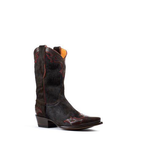 Women's Old Gringo Boots Villa Hair on Chocolate #L060-137