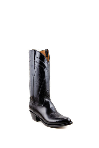 Men's Lucchese Classics Gavin Goat Boots Black #L1508 6/4