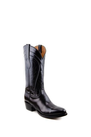 Men's Lucchese Classics Gavin Boots Black Goat #L1508 6/3