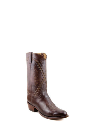 Men's Lucchese Classics Burnished Baby Buffalo Boots Whiskey #L1661 6/3