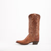 Women's Justin Cowhide Boots Oak Barrel Brown #L4348