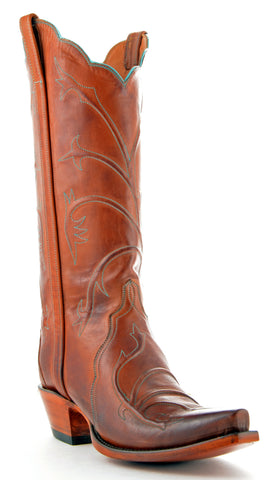 Women's Lucchese Classics Triad Boots Cognac #L4719
