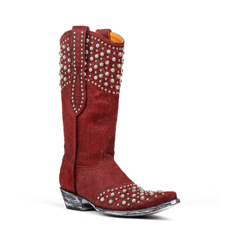 Women's Old Gringo Boots Leigh Anne Red #L676-17