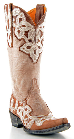 Women's Old Gringo Marrione Boots Vesuvio Oryx #L836-7