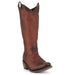 Women's Liberty Black Boots Delano Cotto Stonewashed #LB-711172-A view 1