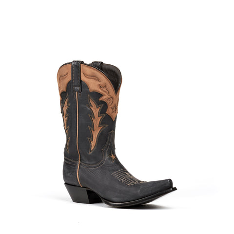Women's Liberty Boot Company Austin Negro Karla Boots #LC-RE004E