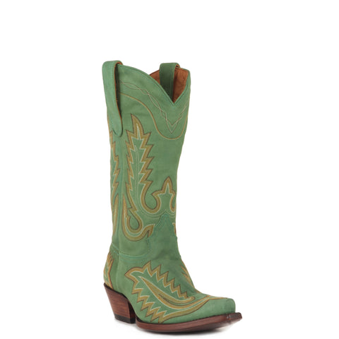 Women's Caborca by Liberty Black Vegas Turqueza Boots #LONGHORN VAQ CLASICA