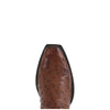 Women's Lucchese Classics Barnwood Burnished Pin Ostrich Boots #GD9088-7/4