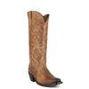 Women's Lucchese Boots Triad Tan Mad Dog Corded #M5109