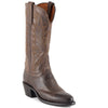 Women's Lucchese Mad Dog Goat Boots Chocolate #N4554-R4
