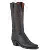 Women's Lucchese Mad Dog Goat Boots Black Burn #N8259-5/4