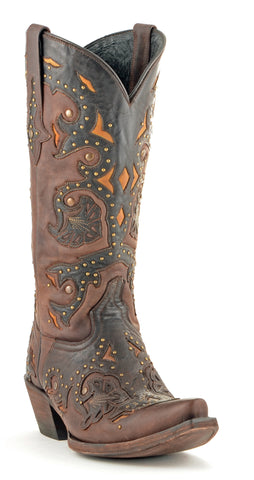 Women's Lucchese Scarlette Cafe #M5015