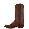 Men's Lucchese Boots Barnwood Pin Ostrich #N1156-7/3