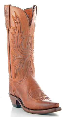 Women's Lucchese Mad Dog Goat Boots Tan #N4540-5/4
