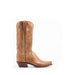 Women's Lucchese Tan Burnished Mad Dog Goat Boots #N4540-7/4 view 6