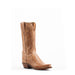 Women's Lucchese Tan Burnished Mad Dog Goat Boots #N4540-7/4 view 1