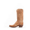 Women's Lucchese Tan Burnished Mad Dog Goat Boots #N4540-7/4