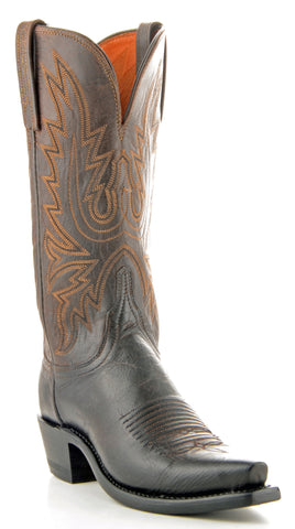 Women's Lucchese Mad Dog Goat Boots Chocolate #N4554-5/4
